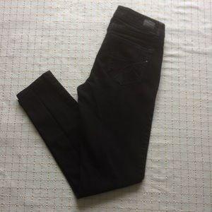 Jordache Black 5 Pocket Style Skinny Jeans, Size 4